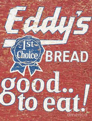 Eddy's Bread Art Print