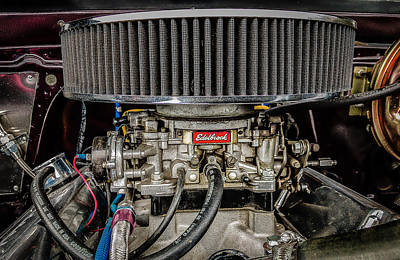 Photograph - Edelbrock by Mark Guinn