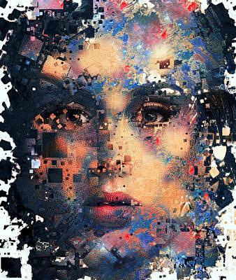 Digital Art - Edele Cubizm by Yury Malkov