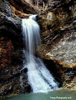 Photograph - Eden Falls by Wesley Nesbitt
