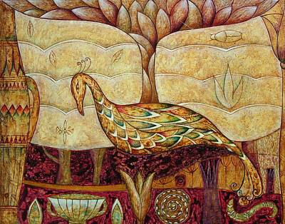Painting - Eden by Kasia Blekiewicz