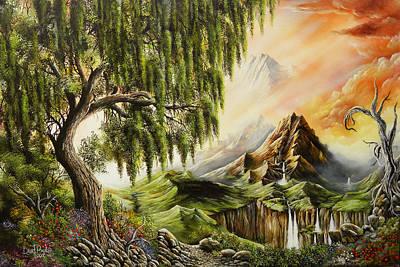 David Paul Painting - Eden by David Paul