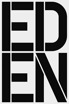 Abbreviation Painting - Eden by Three Dots