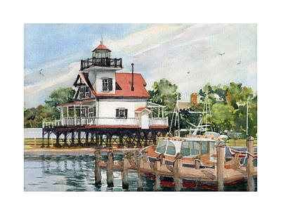 Painting - Edenton Sentinel by Dick Dee
