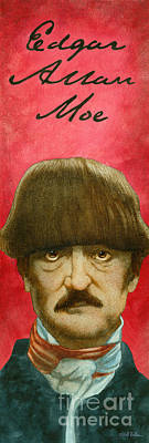 Edgar Allan Moe... Art Print