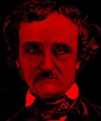 Edgar Allan Poe Art Print by Brian Broadway