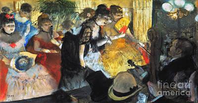 Edgar Degas: Cabaret, 1876 Art Print