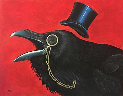 Painting - Edgar  by Matt Ebisch