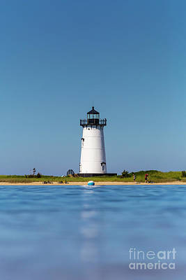 Photograph - Edgartown Harbor Light I by Clarence Holmes
