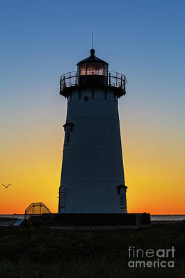 Photograph - Edgartown Harbor Light Sunrise IIi by Clarence Holmes