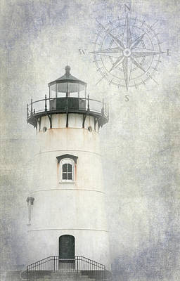 Photograph - Edgartown Light by Bill Wakeley