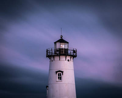 Photograph - Edgartown Lighthouse Five Minutes by Paul Treseler