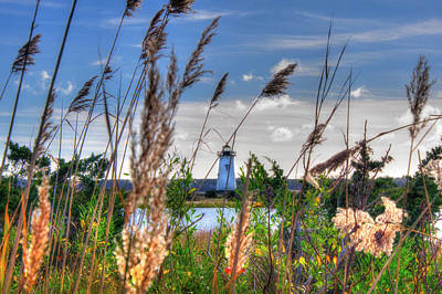 Photograph - Edgartown Lighthouse - Martha's Vineyard by Joann Vitali