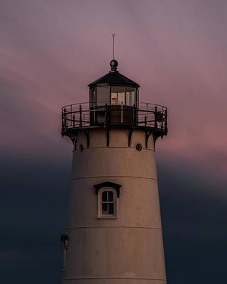 Photograph - Edgartown Lighthouse by Paul Treseler