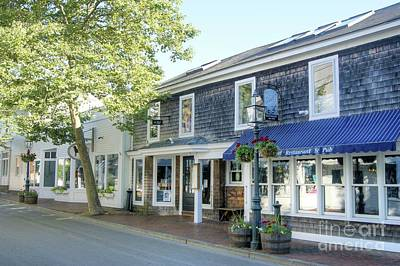 Photograph - Edgartown Street by David Birchall