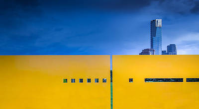 Abstract Architecture Photograph - Edge by Gregory Evans