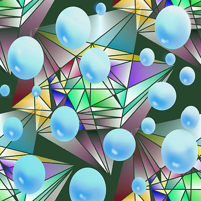 Incarnation Digital Art - Edge Of Deliverence by James Potter