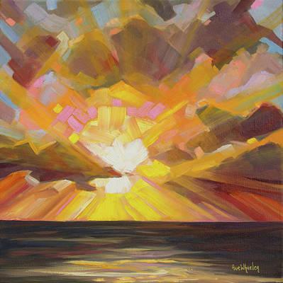 Edge Of Glory Original by Eve  Wheeler