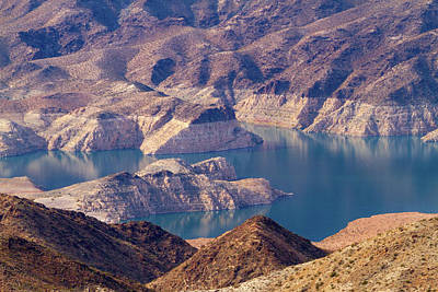 Photograph - Edge Of Lake Mead by Bonnie Follett