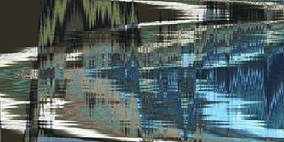 Pathway Digital Art - Edge Of The Lake by Lenore Senior