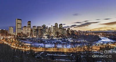 City Scenes Royalty-Free and Rights-Managed Images - Edge Of The Night by Evelina Kremsdorf