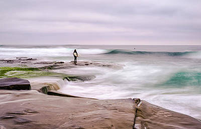 Photograph - Edge Of The Sea by Joseph S Giacalone