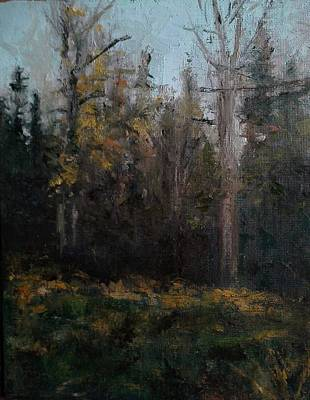 Painting - Edge Of The Woods #1 by Brian Kardell
