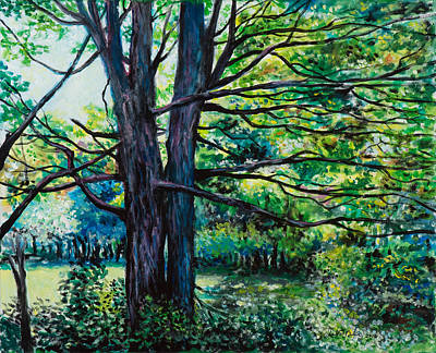 Painting - Edge Of The Woods by David Burke