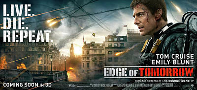 Skyline Digital Art - Edge Of Tomorrow by Maye Loeser