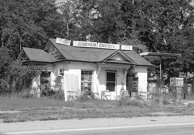 Photograph - Edgemoor Grocery by Joseph C Hinson Photography