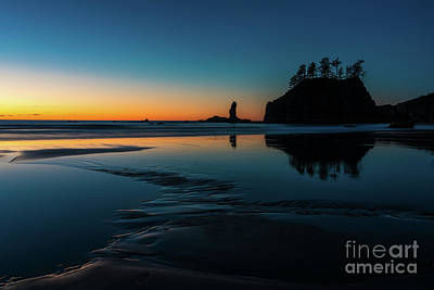 Photograph - Edges Of Light Along The Beach by Mike Reid