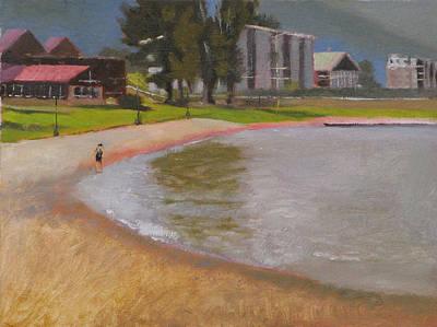 Edgewater Art Print by Robert Bissett