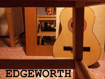 Edgeworth Acoustic Guitar Art Print