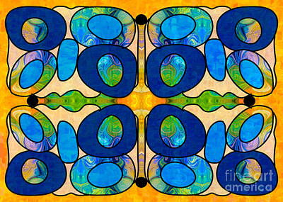 Edible Extremes Abstract Bliss Art By Omashte Art Print by Omaste Witkowski