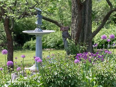 Photograph - Edies Garden by Deb Buchanan