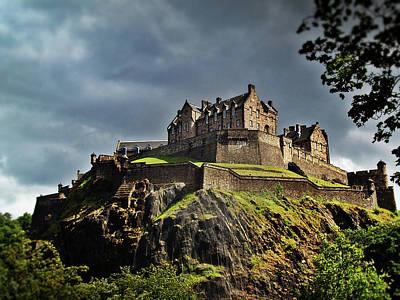 Royal Mile Photograph - Edinburgh Castle by Amanda Finan