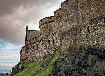 Photograph - Edinburgh Castle Closeup by Jean Noren