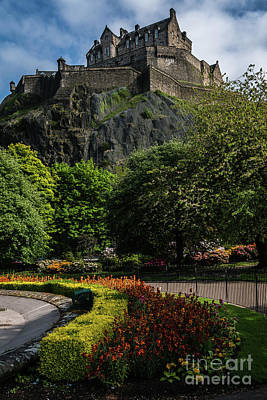 Photograph - Edinburgh Castle by George Garbeck