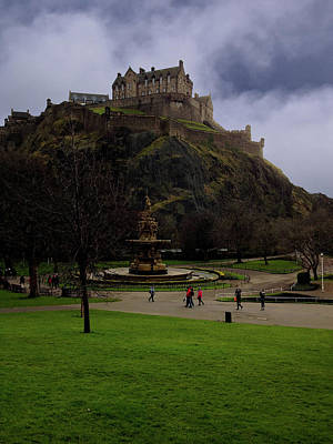 Edinburgh Castle Print by Artistic Photos