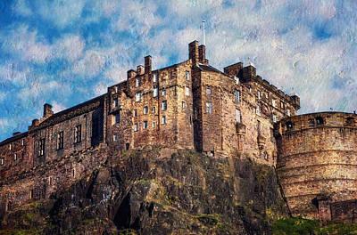 Photograph - Edinburgh Castle  by Jenny Rainbow