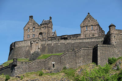Photograph - Edinburgh Castle by Jeremy Lavender Photography