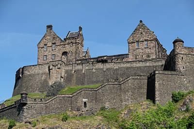 Photograph - Edinburgh Castle by Jeremy Lavender Photography