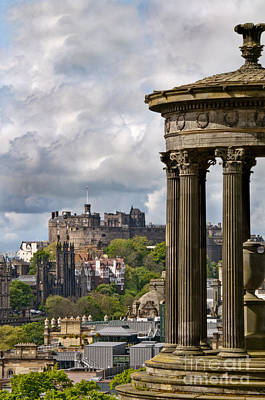 Castle Photograph - Edinburgh Castle by Marion Galt
