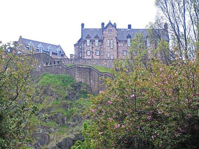 Photograph - Edinburgh Castle by Mary J Tait