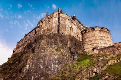 Photograph - Edinburgh Castle On The Rock by Jenny Rainbow