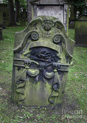 Photograph - Edinburgh St Cuthbert Cemetery by Gregory Dyer