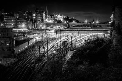Photograph - Edinburgh City by Fred Gramoso