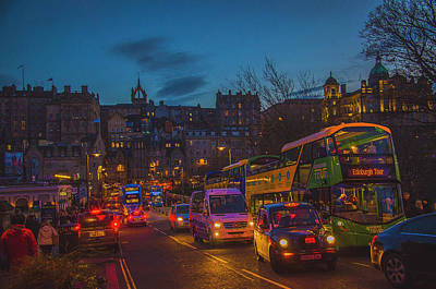 Photograph - Edinburgh - City Of Lights by Edyta K Photography