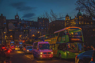 Photograph - Edinburgh - City Of Lights II by Edyta K Photography