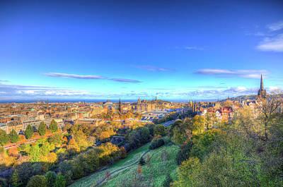 Photograph - Edinburgh City View  by David Pyatt